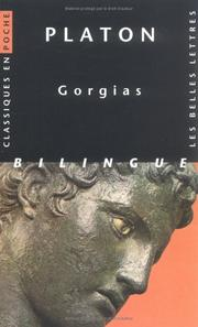 Cover of: Gorgias | Plato