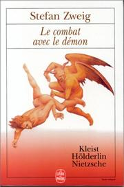 Cover of: Le Combat avec le démon by Stefan Zweig