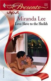 Cover of: Love-Slave To The Sheikh by Miranda Lee