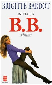 Cover of: Initiales BB | Bardot