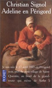 Cover of: Adeline en Périgord | Christian Signol