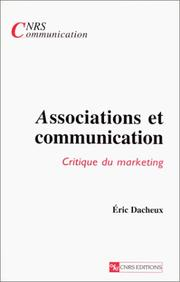 Cover of: Associations et communication | Eric Dacheux