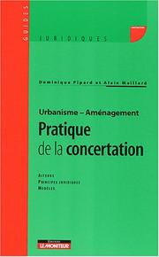Cover of: Urbanisme, aménagement by Dominique Pipard