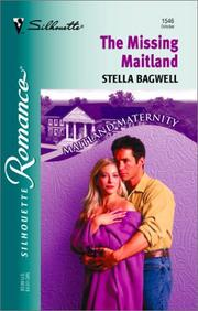 Cover of: Missing Maitland (Maitland Maternity | Stella Bagwell