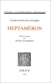 Cover of: Heptaméron by Marguerite de Navarre