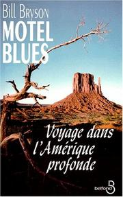 Cover of: Motel blues | Bill Bryson