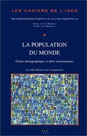 Cover of: La population du monde | Chasteland /Chesnais