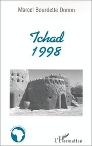 Cover of: Tchad 1998 | Marcel Bourdette-Donon