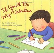 Cover of: If you'll be my Valentine | Cynthia Rylant