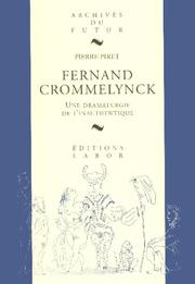 Cover of: Fernand Crommelynck | Pierre Piret