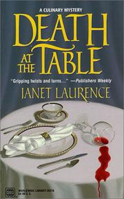 Cover of: Death At The Table by Janet Laurence