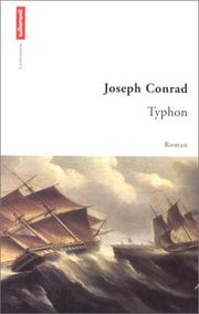 Cover of: Typhoon by Joseph Conrad