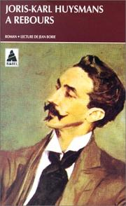 Cover of: A rebours by Joris-Karl Huysmans