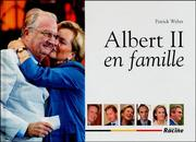 Cover of: Albert II en famille by Patrick Weber