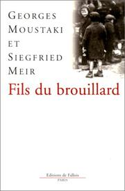 Cover of: Fils du brouillard | Georges Moustaki