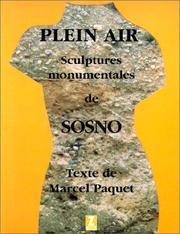 Cover of: Plein air | Marcel Paquet