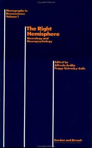 Cover of: Right Hemisphere | A. Ardilla