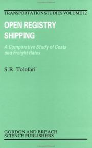 Cover of: Open registry shipping | S. R. Tolofari