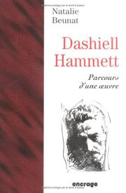 Cover of: Dashiell Hammett | Nathalie Beunat