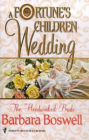 Cover of: The Hoodwinked Bride (Silhouette by Barbara Boswell