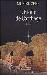 Cover of: L' étoile de Carthage | Muriel Cerf