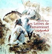 Cover of: Les lettres de Tamanrasset by Catherine Rossi