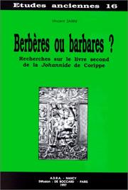 Cover of: Berbères ou barbares? by Vincent Zarini