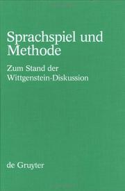 Cover of: Sprachspiel Und Methode | Dieter Birnbacher