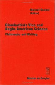 Cover of: Giambattista Vico and Anglo-American Science | Marcel Danesi