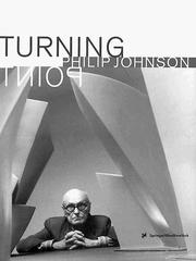 Cover of: Philip Johnson | Peter Noever