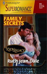 Cover of: Family Secrets by Ruth Jean Dale