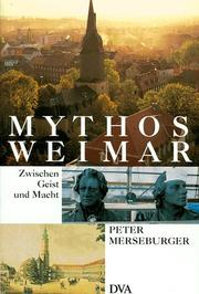 Cover of: Mythos Weimar | Peter Merseburger