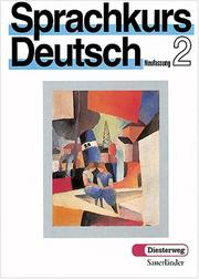 Cover of: Sprachkurs Deutsch | Hugo Zenker