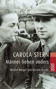 Cover of: Manner Lieben Anders by Carola Stern