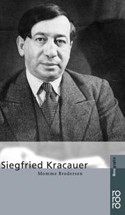 biography of siegfried kracauer From caligari to hitler by siegfried kracauer, 9780691115191, available at book depository with free delivery worldwide.