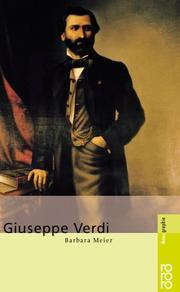 Cover of: Giuseppe Verdi | Meier, Barbara