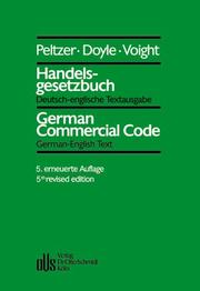 Cover of: Handelsgesetzbuch by Germany