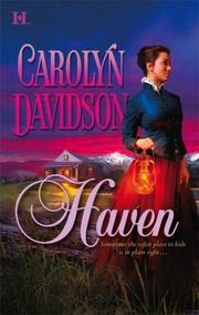 Cover of: Haven by Carolyn Davidson