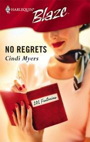 Cover of: No Regrets | Cindi Myers