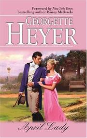 Cover of: April Lady | Georgette Heyer