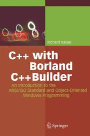 Cover of: C++ with Borland C++Builder | Richard Kaiser