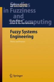 Cover of: Fuzzy systems engineering | Nadia Nedjah, Luiza de Macedo Mourelle
