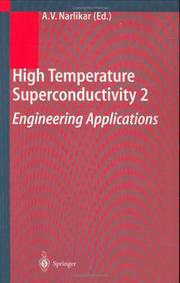 Cover of: High Temperature Superconductivity 2 by A.V. Narlikar