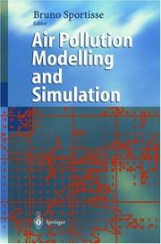Cover of: Air Pollution Modelling and Simulation | Bruno Sportisse