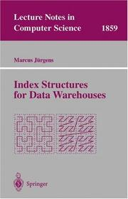 Cover of: Index Structures for Data Warehouses | Marcus Jürgens