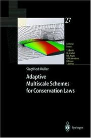 Cover of: Adaptive Multiscale Schemes for Conservation Laws by Siegfried Müller
