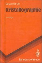 Cover of: Kristallographie by Walter Borchardt-Ott