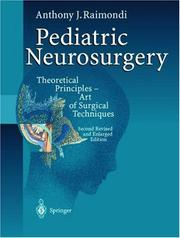 Cover of: Pediatric neurosurgery | Anthony J. Raimondi