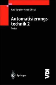 Cover of: Automatisierungstechnik 2 by Hans-Jürgen Gevatter