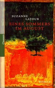 Cover of: Eines Sommers im August | Suzanne Latour